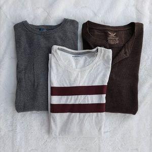 EUC 3 Lots of Men's Longsleeves Sweater L-XL